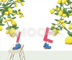 Ll is  for ... lemon
