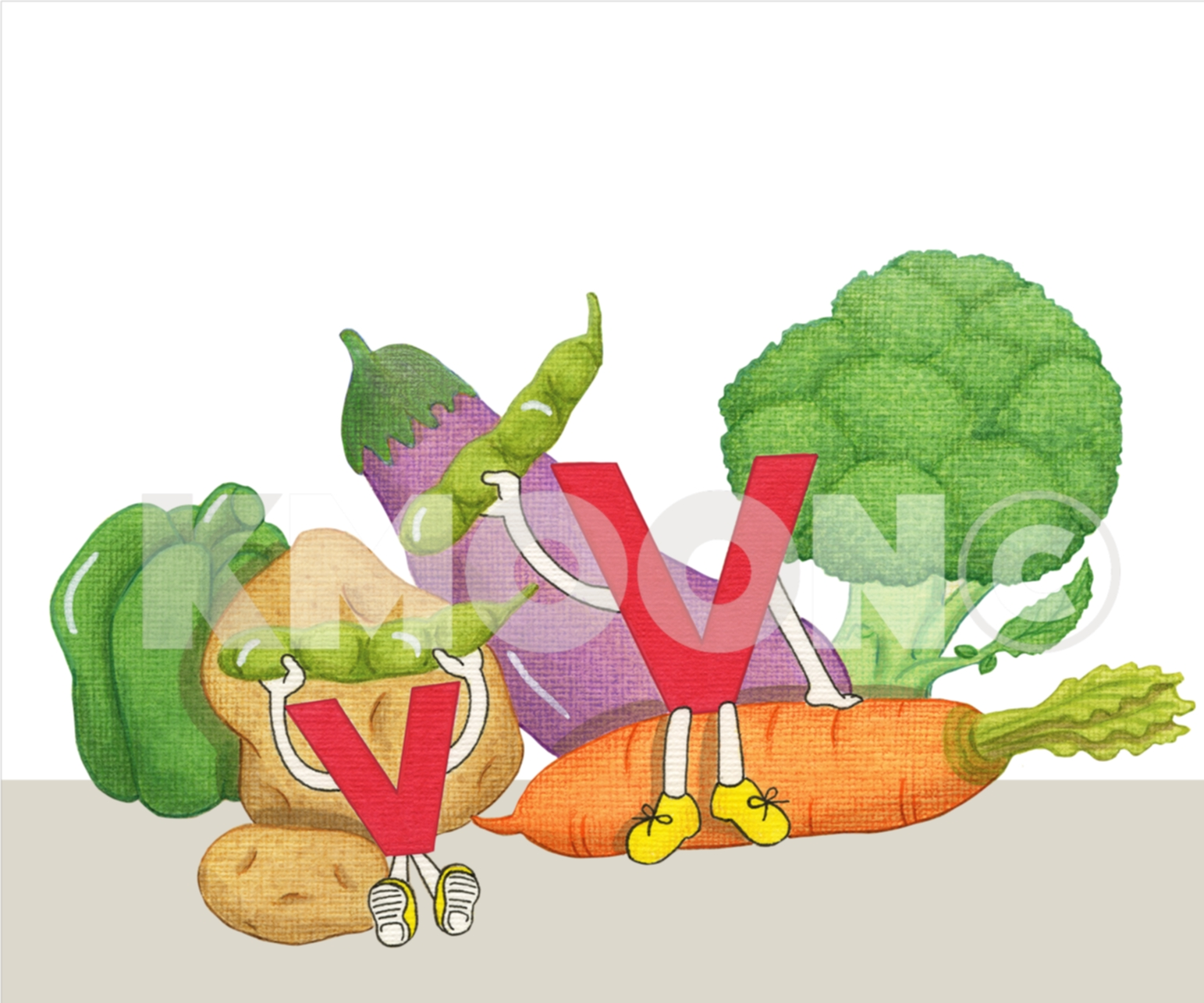 Vv is for ... vegetable