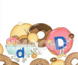 Dd is for ... doughnut