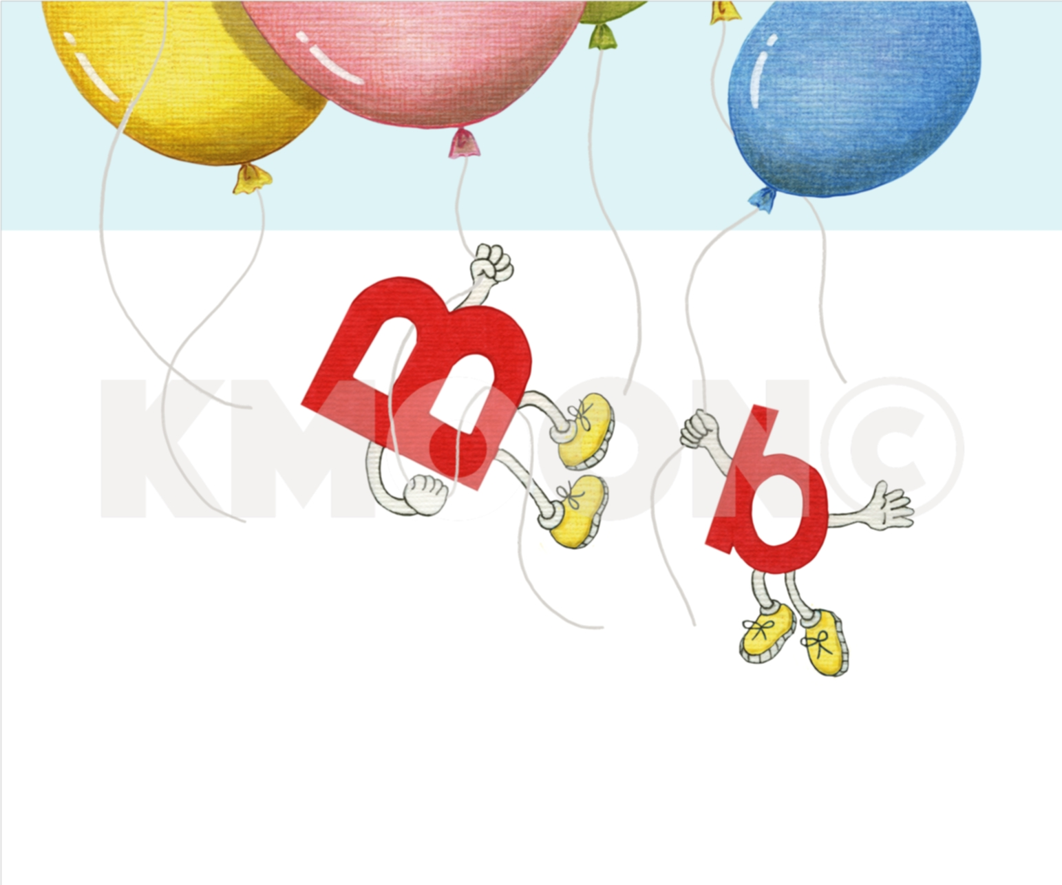 Bb is for ... balloon