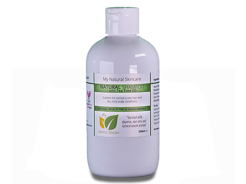 Natural Shampoo - Tea Tree 250ml