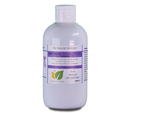 Natural Shower Gel - Lavender 250ml