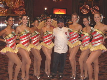 ACE OF CAKES WITH ROCKETTES