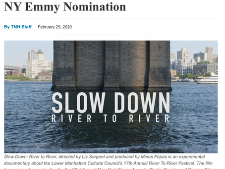 ARTICLE: Minos Papas-Produced Film Receives NY Emmy Nomination