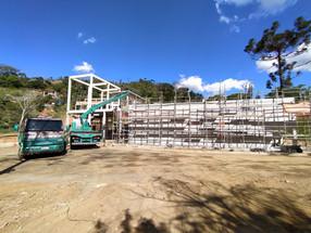 Obras da Estação de Tratamento de Água em Araras avançam
