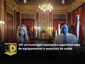 Pedido para instalação de CPI para investigar aquisições superfaturadas de equipamentos e materiais
