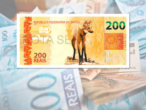 Banco Central prevê lançamento da nota de R$ 200 na quarta-feira