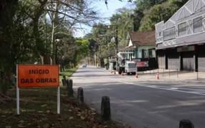 Obras do DNIT causam grandes congestionamentos no acesso aos Distritos