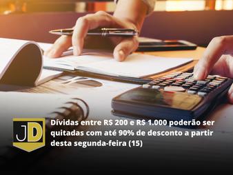 Até 90% de desconto para inadimplentes quitarem dívidas de até R$1000 pelo site do Serasa
