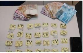 Cocaína apreendida no Jardim Salvador e crack na Barão do Rio Branco
