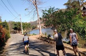 Lago de Nogueira a cada fim de semana recebe mais visitantes