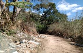 Estrada do Caetitu, apesar de constar como recuperada, não tem manutenção