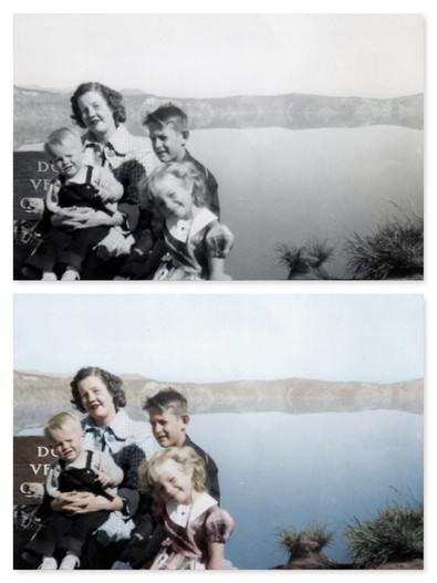 Photo colorization