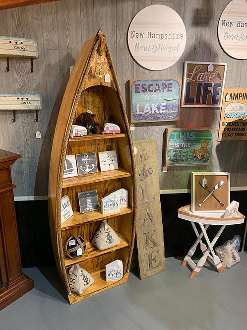 Wooden Boat Shelfs
