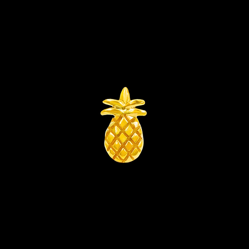 14 karat Gold Pineapple End