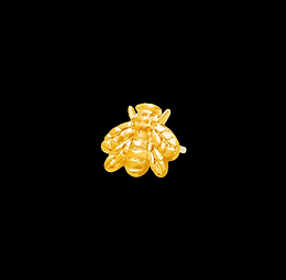 14ct Solid Gold Bee's