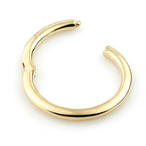 14ct Yellow Gold Hinged Segment Ring