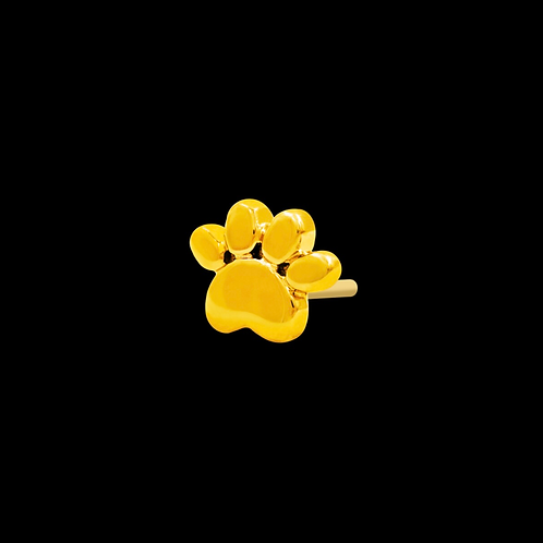 Gold Paw End Solid 14ct