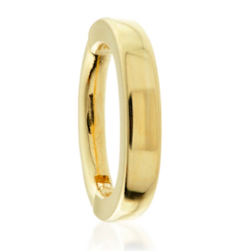 Oval Rook Ring - 14ct Yellow Gold