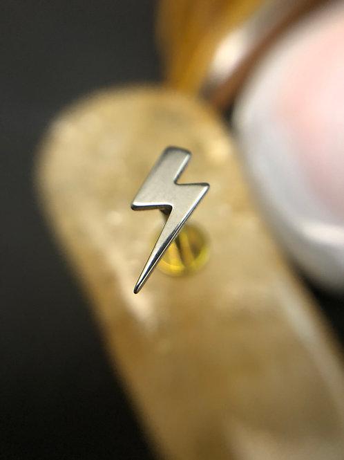 Lightening Bolt Flat Attachment 16g End