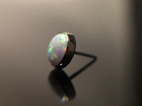 White Opal Threadless End