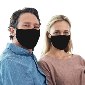 Black Unisex Face Masks