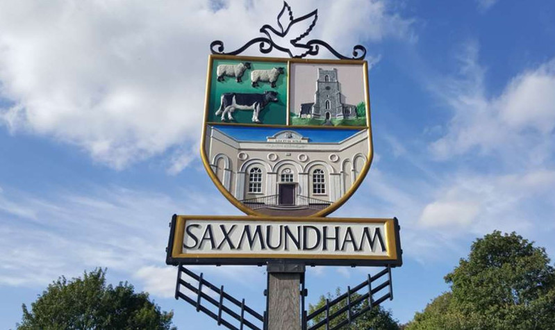 Saxmundham Sign