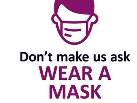 Please wear a mask!