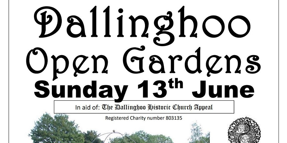 Dallinghoo Open Gardens