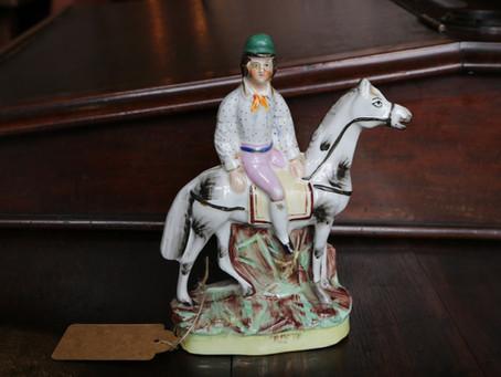 Staffordshire Jockey - £295