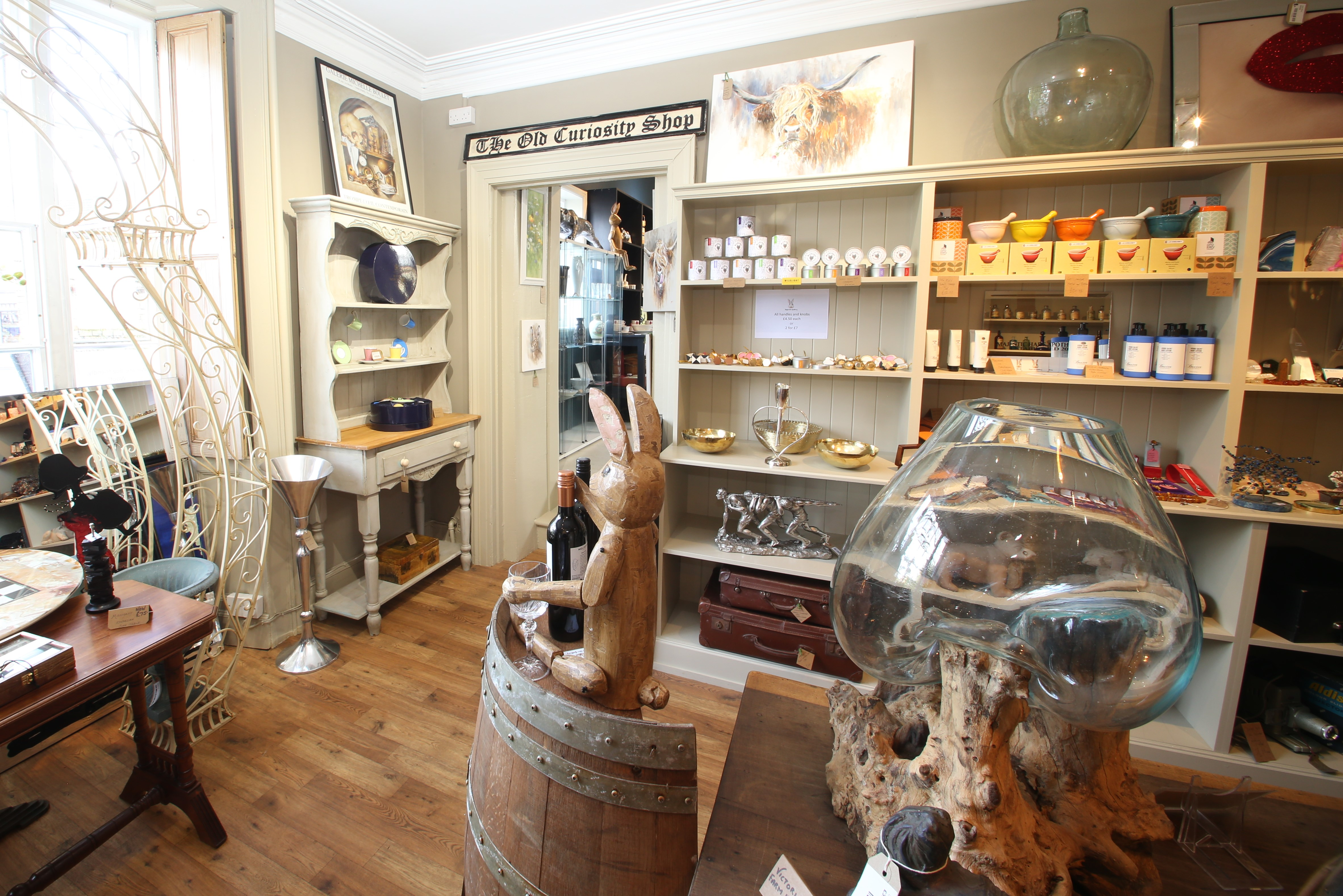Majestic Hare Apothecary first show area