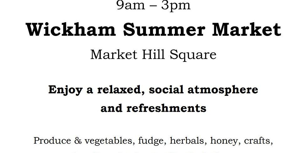 Wickham Summer Market