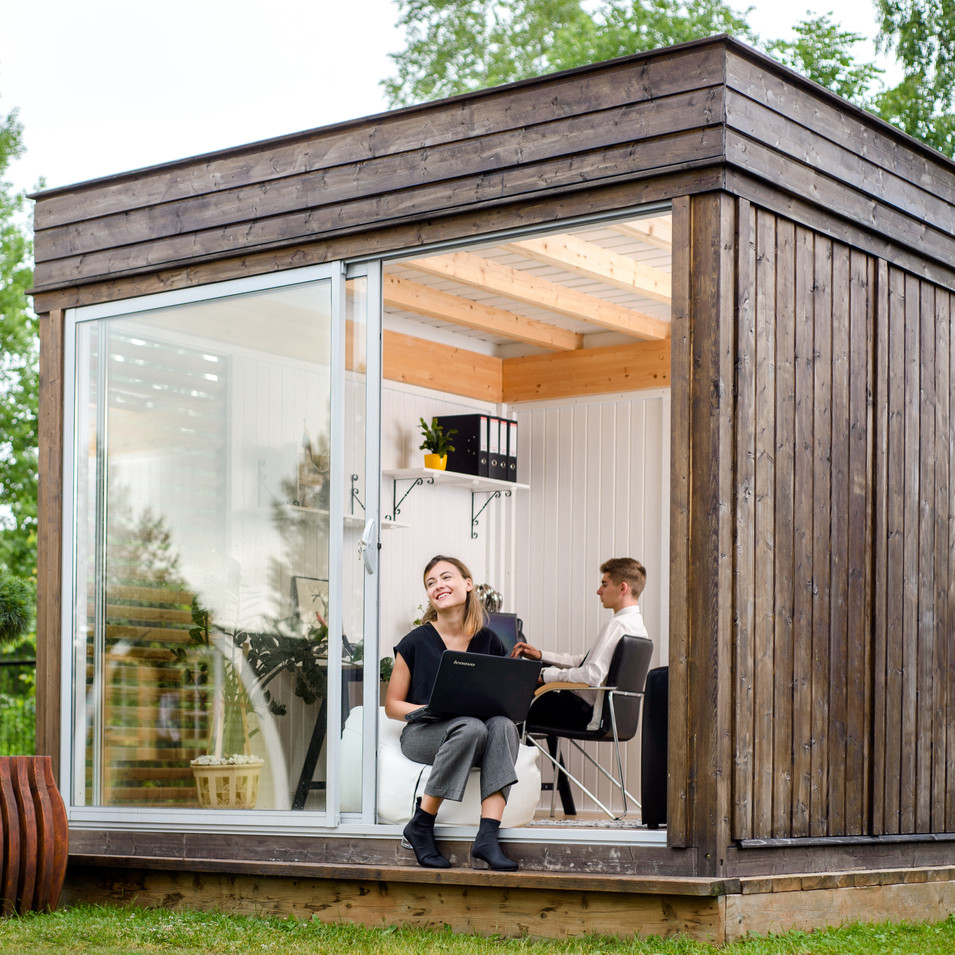 Garden Cube 3x3m Office Space