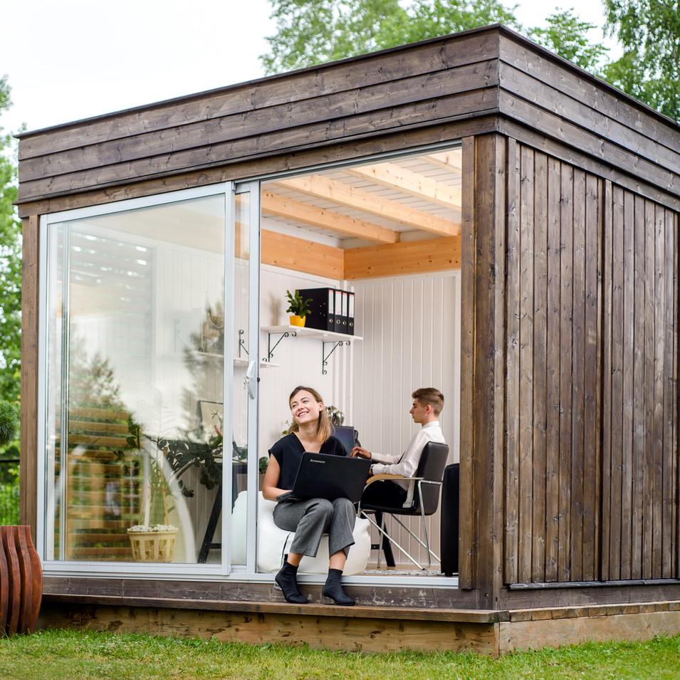 Garden Cube 3x3m Office Space