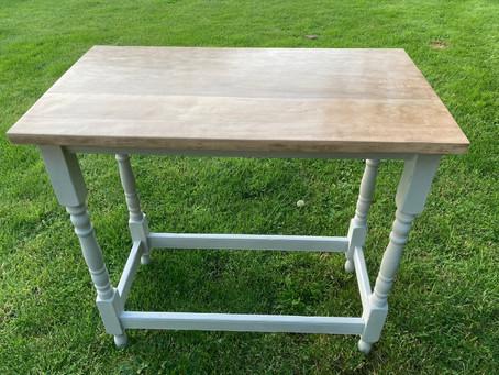 Oak Side Table - SOLD