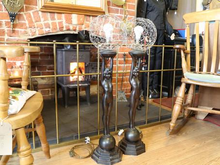Pair of Lamps - £130