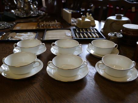 Minton Monarch Soup Bowl Set - £20