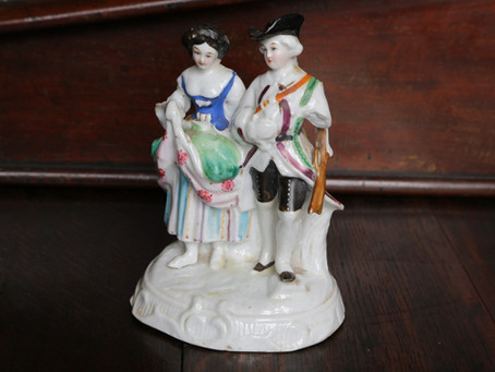 Staffordshire Military Couple - £45