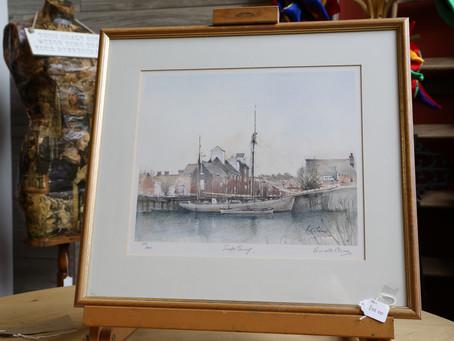 Watercolour Snape Maltings - SOLD
