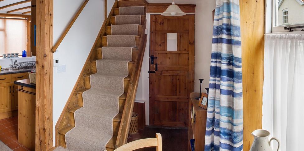 Chapel Cottage: Entrance