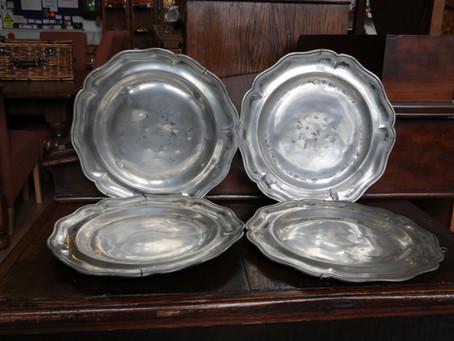 Pewter Plate Set - £200