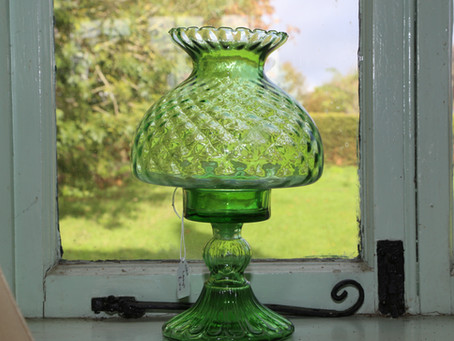 Green Lamp - SOLD