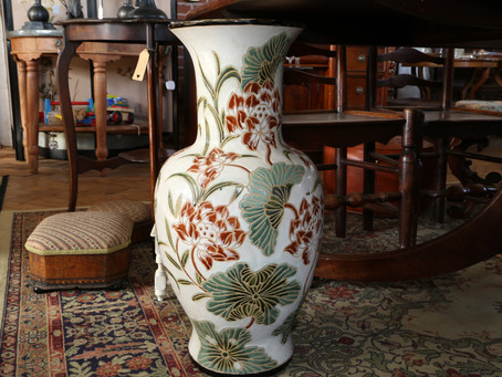 Large Floor Standing Vase - SOLD