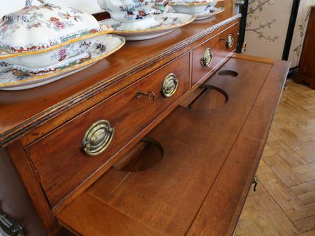 19th Century Mahogany Serving Cabinet - £165