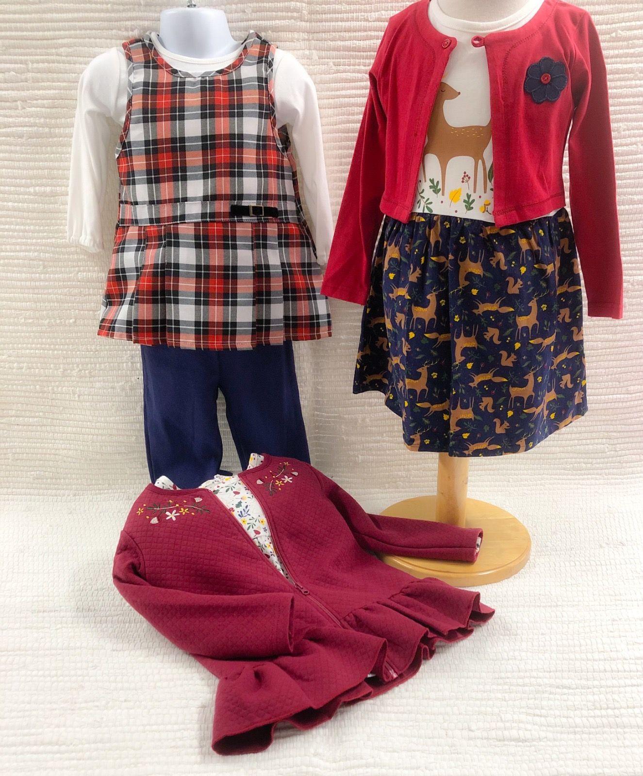Girls Autumn Clothing Selection