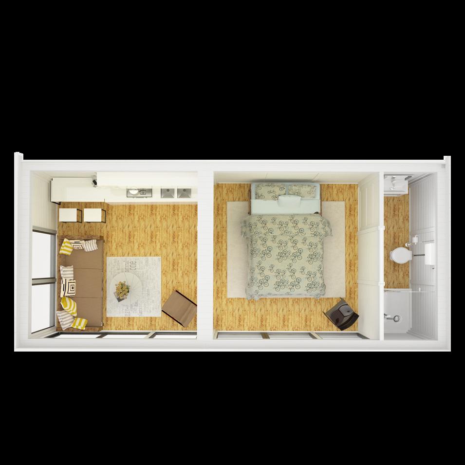 Garden Room & Bedroom