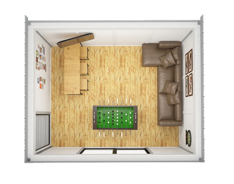 Interior Garden Cube 3x4m