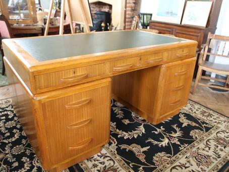 Carson Wooden Desk - £385