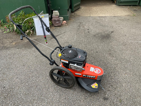DR Heavy Duty Wheeled Strimmer - SOLD
