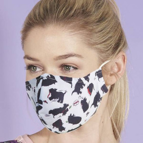 Dog Print Face Mask